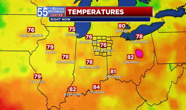 WFFT Temperatures