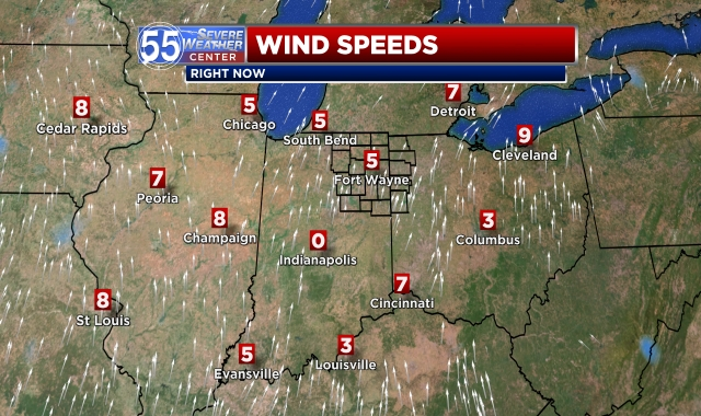 Regional Wind Speeds