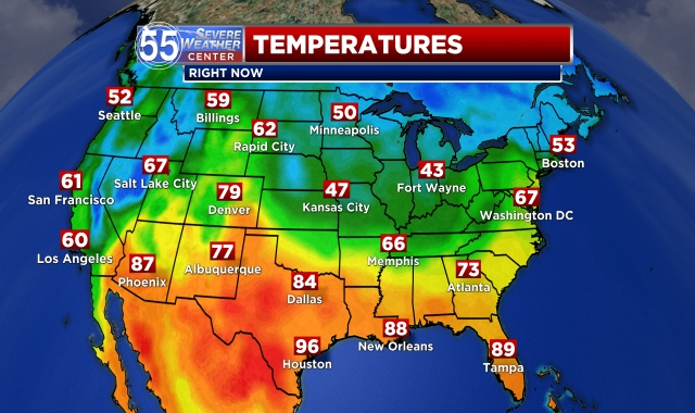 National Temps